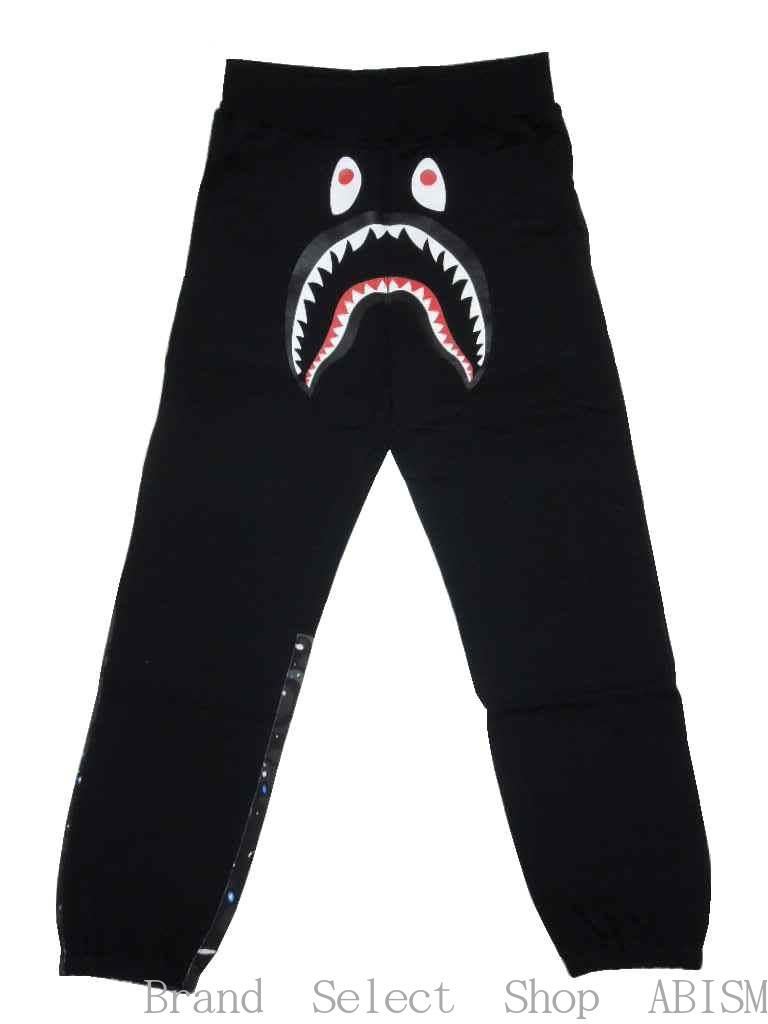 メンズファッション, ズボン・パンツ A BATHING APE()SPACE CAMO SHARK SWEAT PANTS BAPE