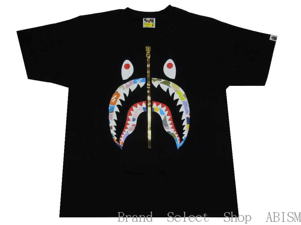 トップス, Tシャツ・カットソー A BATHING APE()MULTI CAMO SHARK RELAXED FIT TEETMensBAPE