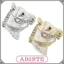 ABISTE(アビステ) 馬ブローチ/Sホワイト、Gホワイト 5301085 レディース 女性 人気 上品 大人 かわいい おしゃれ アクセサリー ブランド 誕生日 ギフト プレゼント ラッピング無料
