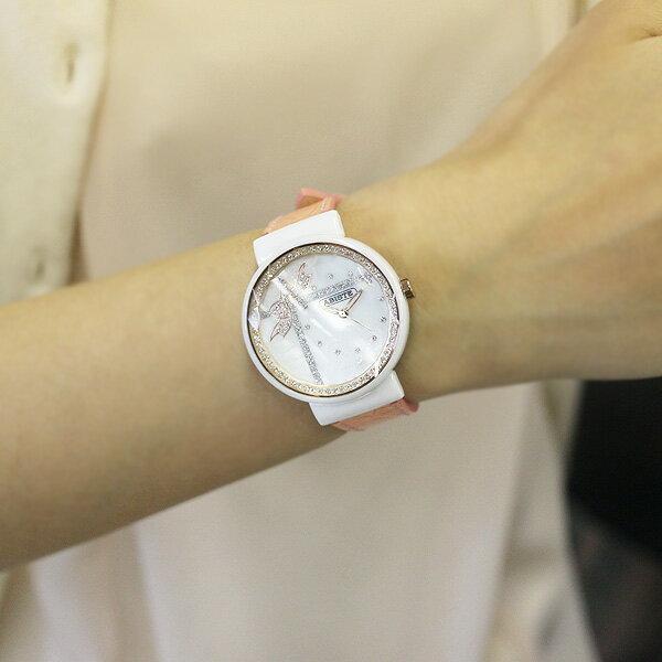 ABISTE(アビステ) リボン&レースモチーフフェイスベルト時計/ピンク 9400022P/PK レディース 女性 人気 上品 大人 かわいい おしゃれ アクセサリー ブランド 誕生日 ギフト プレゼント ラッピング無料 腕時計 ウォッチ