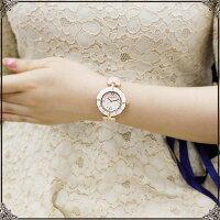 ★送料無料★ABISTE(アビステ)ラウンドフェイスベルト腕時計/ホワイト、ピンク、ブルー9150031