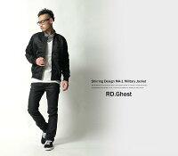 【RD.Ghost】ナイロンミリタリーMA-1ジャケット