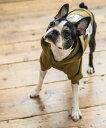 ドッグウェア 犬服 ペット プルオーバーパーカー ペーパーハンガー付き プリント リフレクター 反射材 愛犬 小型犬 中型 フレンチブルドッグ 綿 コットン 裏毛 オールシーズン お出かけ お散歩 LICICK リシック 9388 3