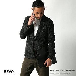 アクリル混の密度の濃いニットを使いながら、柔らかな着心地がポイント。◆【Revo./レヴォ】ウ...