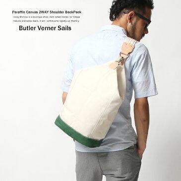 リュック ショルダーバッグ ボンサック サコッシュ キャンバス 日本製 国産 Butler Verner Sails バトラーバーナーセイルズ JA-1767
