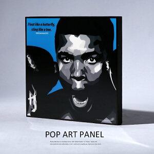 アートパネル Muhammad Ali モハメド・アリ ボクサー WBA WBC ヘビー級 チャンピオンインテリア ポスター 壁掛け グラフィック 6878