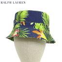 ポロ ラルフローレン アロハプリント バケット ハット Polo by Ralph Lauren Aloha Bucket Hat US