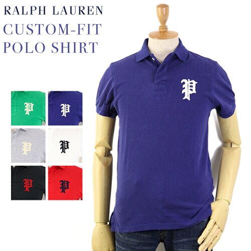 """Ralph Lauren Men's """"P"""" CUSTOM-FIT Polo Shirts US ポロ ラルフローレン メンズ カスタムフィット..."""