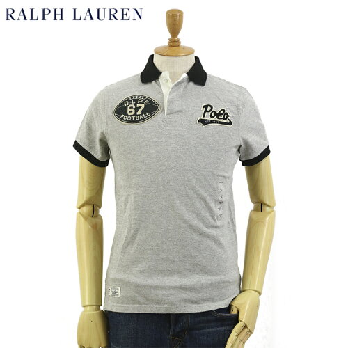 "Ralph Lauren Men's ""CUSTOM FIT"" Football Polo Shirts US ポロ ラルフローレン メンズ カスタム..."