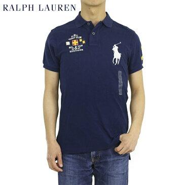 ポロ ラルフローレン メンズ カスタムフィット ヨットクラブ ポロシャツ 信号旗 ビッグポニー刺繍 POLO Ralph Lauren Men's