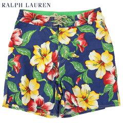 Ralph Lauren Men's Aloha Swim Shorts US ポロ ラルフローレン アロハ スイムショーツ (水着)