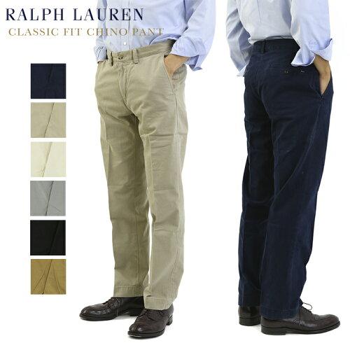 """(4色) Polo by Ralph Lauren Men's """"CLASSIC FIT"""" Chino Pants US ポロ ラルフローレン クラシック..."""
