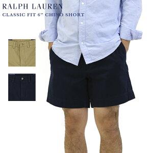 """Ralph Lauren Men's CLASSIC FIT 6"""" Chino Short US ポロ ラルフローレン 6インチ チノショーツ ショートパンツ 半ズボン ショート丈"""