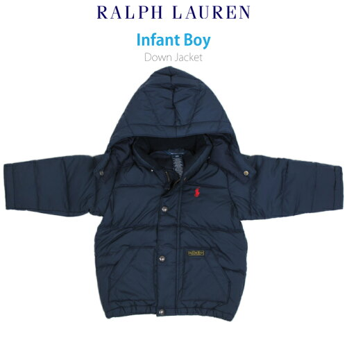 "(9M-24M) POLO by Ralph Lauren ""INFANT BOY"" Down Jacket Parka USラルフローレン (幼児)ベイビー..."