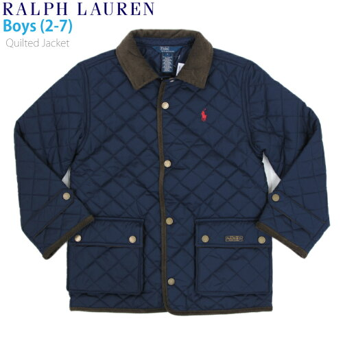 "(2-7) POLO by Ralph Lauren ""BOY (2-7)"" Quilted Jacket USラルフローレン 子供用のキルティング..."