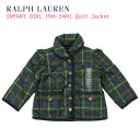 "(9M-24M) POLO by Ralph Lauren ""INFANT GIRL"" Quilted Jacket USラルフローレン (幼児)ベイビーサイズのキルティングジャケット (UPS)"