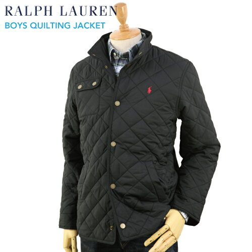 POLO by Ralph Lauren Boys Quilted Jacket USラルフローレン ボーイズサイズのキルティングジャケ...