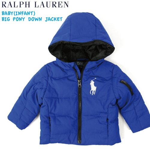 "(9M-24M) POLO by Ralph Lauren ""INFANT BOY"" Down Parka USラルフローレン (幼児)ベイビーサイズ..."
