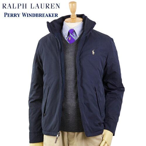 Ralph Lauren Men's Perry Windbreaker (NAVY) US ポロ ラルフローレン フリースライナー ウインド...
