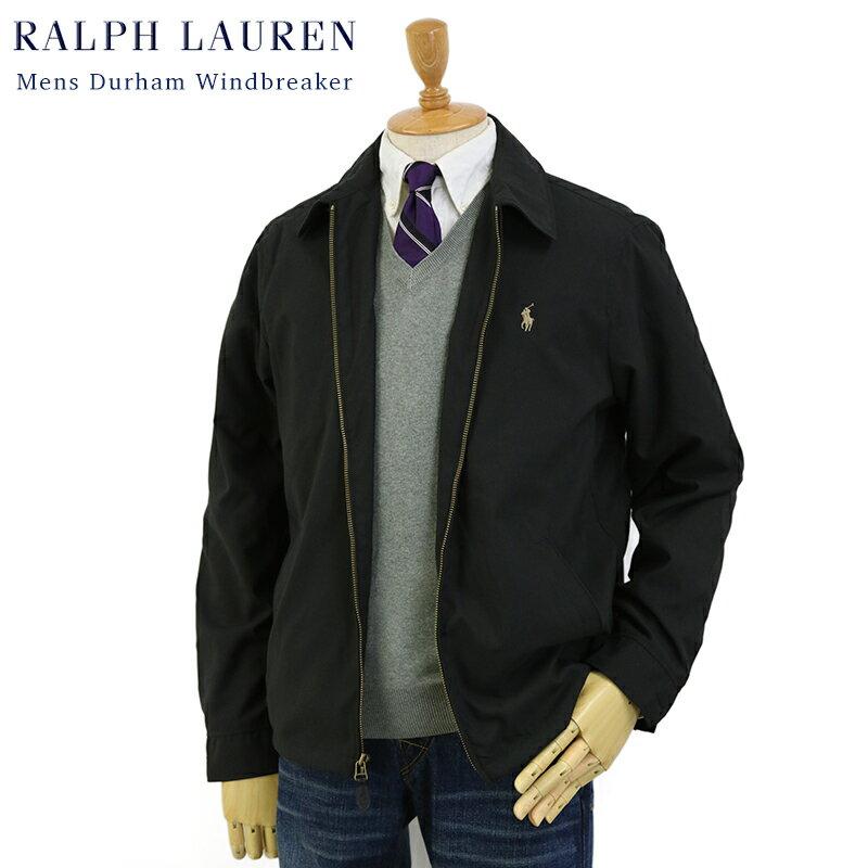 Ralph Lauren Men's Durham Windbreaker (BLACK) US ポロ ラルフローレン スウィングトップ ウインドブレーカー ジャケット