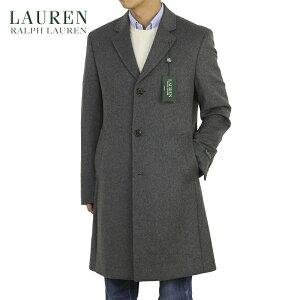 LAUREN by Ralph Lauren Men's Melton Chester Coat US ローレン ラルフローレン ウール カーコート チェスターコート