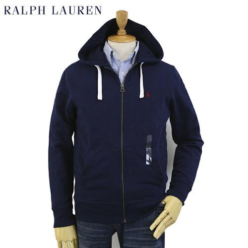 Ralph Lauren Men's Fleece Zip Parka US ポロ ラルフローレン 定番ジップアップスウェットパーカ...