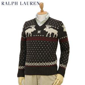 Ralph Lauren Men's Nordic Sweater US ポロ ラルフローレン ノルディック柄 セーター