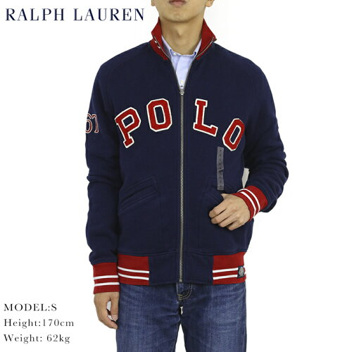 """ポロ ラルフローレン スウェット ジャージ ジャケット Polo Ralph Lauren Men's """"POLO"""" Fleece Tra..."""