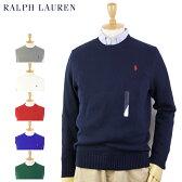 Ralph Lauren Men's Cotton Crew Sweater US ポロ ラルフローレン コットンのクルーネックセーター