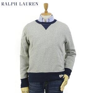 Ralph Lauren Men's Crew Neck Vintage Fleece Pullover ポロ ラルフローレン クルーネック スウェット