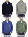 ポロ ラルフローレン コットンのハーフジップ ケーブルセーター POLO Ralph Lauren Men's Cotton Cable Half-Zip Sweater 売れ筋 2