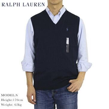 ポロ ラルフローレン コットン ニットベスト POLO Ralph Lauren Men's Pima Cotton Knit Vest US