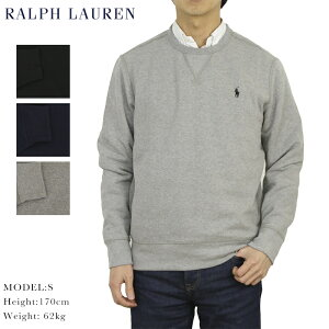 ポロ ラルフローレン クルーネックスウェット 無地 プルオーバー ワンポイント Polo Ralph Lauren Men's Crew Fleece Pullover