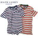 Ralph Lauren Classic Fit Men's Border T-shirts USラルフローレン メンズ ボーダーTシャツ