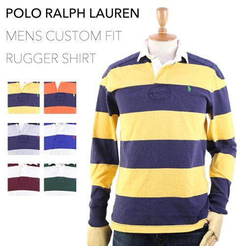"Ralph Lauren Men's ""CUSTOM FIT"" Rugger Shirt US ポロ ラルフローレン カスタムフィット ラガー..."