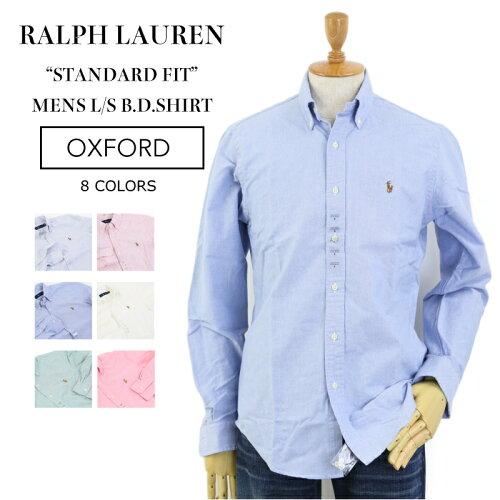 "Ralph Lauren Men's ""STANDARD FIT"" l/s Oxford B.D.Shirts US ポロ ラルフローレン 長袖 スタンダ..."