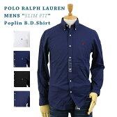"""POLO Ralph Lauren """"SLIM FIT"""" Poplin l/s B.D.Shirts US ポロ ラルフローレン 長袖 ブロード ボタンダウンシャツ スリムフィット(UPS)"""