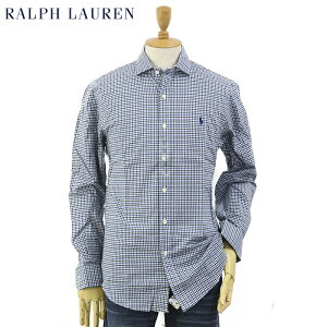 """Ralph Lauren Men's """"SLIM FIT"""" Plaid Spread Collar Shirts US ポロ ラルフローレン スリム ワイドカラー 長袖シャツ チェック (ups)"""