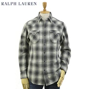 Ralph Lauren Men's Double-Face Western B.D.Shirts US ポロ ラルフローレン チェック ウェスタンシャツ 長袖シャツ