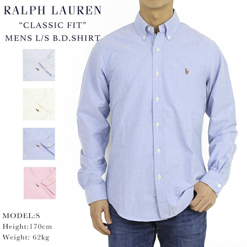 トップス, ワイシャツ  POLO Ralph Lauren Mens CLASSIC FIT ls Oxford B.D.Shirts US (UPS)
