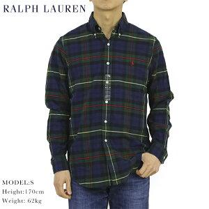26cac13e ポロ ラルフローレン オックスフォード ボタンダウン 長袖シャツ タータンチェック クラシックフィット POLO Ralph Lauren Men's
