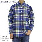"""ポロ ラルフローレン オックスフォード ボタンダウン 長袖シャツ チェック POLO Ralph Lauren Men's """"STANDARD"""" Mad Plaid Oxford B.D.Shirts US"""