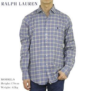 """ポロ ラルフローレン ワイドカラー 長袖シャツ クラシックフィット POLO Ralph Lauren Men's """"CLASSIC FIT """" Spread-Collar Shirts US"""