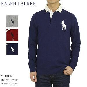 """ポロ ラルフローレン カスタムスリムフィット ビッグポニー 長袖 ラガーシャツ POLO Ralph Lauren Men's """"BIG PONY"""" CUSTOM SLIM FIT"""
