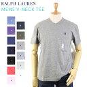 POLO Ralph Lauren Men's CLASSIC FIT V-Neck T-shirts USポロ ラルフローレン メンズ 無地 Vネック Tシャツ ワンポイント