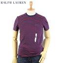 Ralph Lauren Men's INDIGO Border Pocket T-shirts US ポロ ラルフローレン インディゴ染 ポケットTシャツ