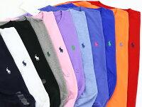 RalphLaurenMen'sCrew-NeckT-shirtsラルフローレンメンズ無地クルーネックTシャツワンポイント