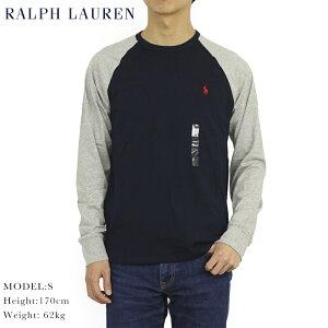 """ポロ ラルフローレン メンズ カスタム スリムフィット ラグランスリーブ 長袖Tシャツ ワンポイント POLO Ralph Lauren Men's """"CUSTOM SLIM FIT""""Raglan l/s T-shirts US"""
