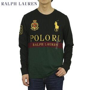ポロ ラルフローレン メンズ ビッグポニー ロゴ刺繍 長袖Tシャツ POLO Ralph Lauren Men's l/s BIG PONY T-shirts US