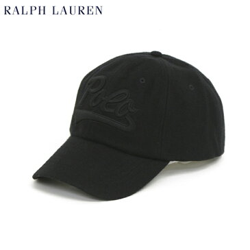 ポロ ラルフローレン ウール フットボールロゴ刺繍 ベースボール キャップ Polo by Ralph Lauren Wool